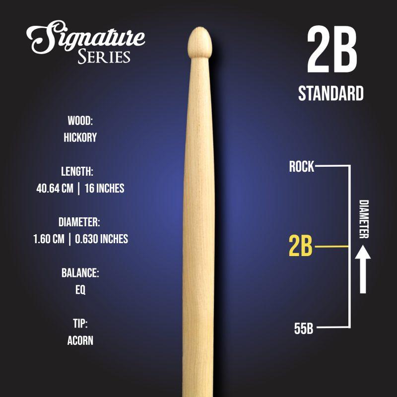 London Drumstick Co Standard 2B info