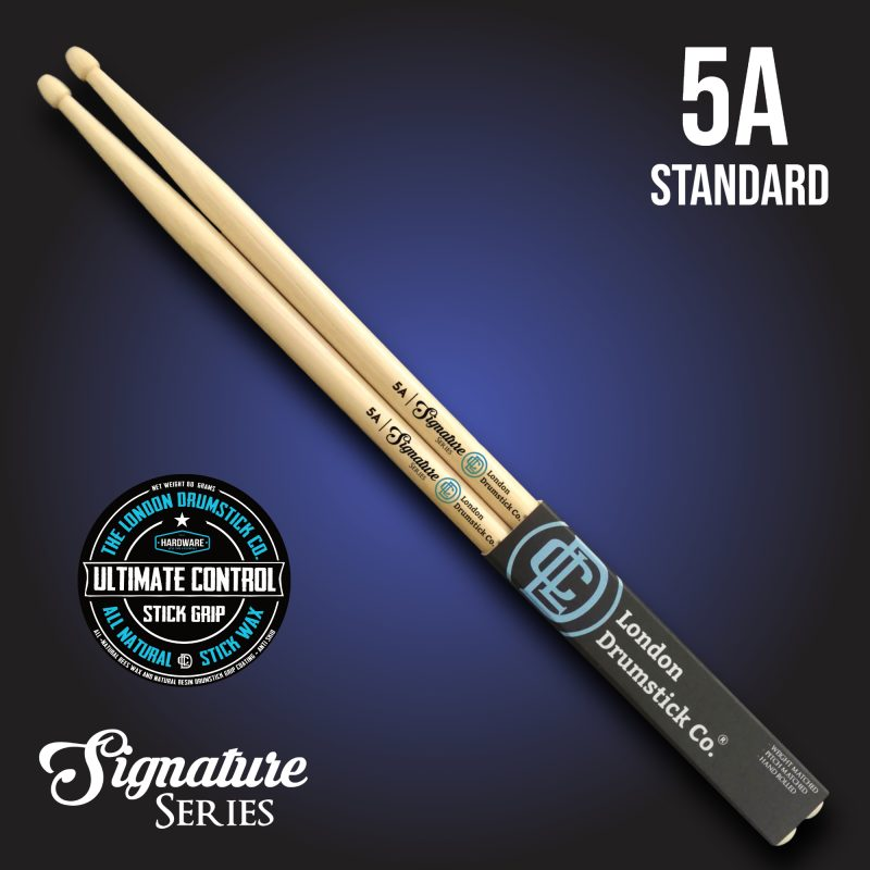| Our classic SoundWave Series drumsticks, pre-coated with our Ultimate Control Wax!