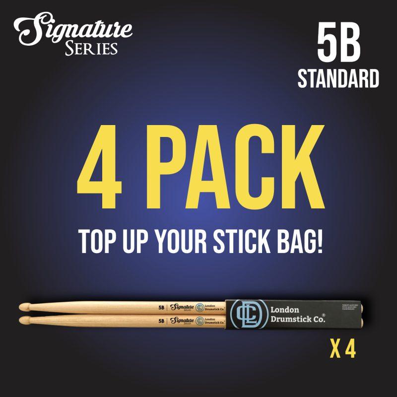London Drumstick Company 4 Pack 5B