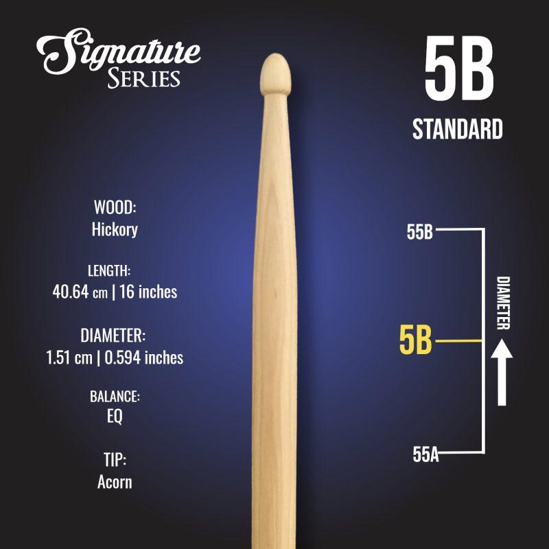 London Drumstick Co Standard 5B info