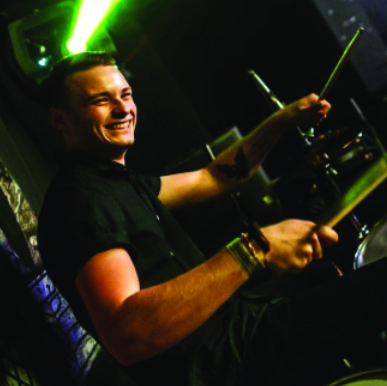 CHARLIE GRAY NEW ARTIST PIC LONDON DRUMSTICK COMPANY