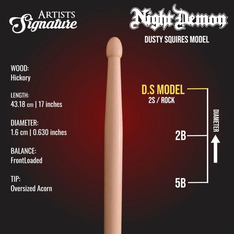 dusty squires night demon