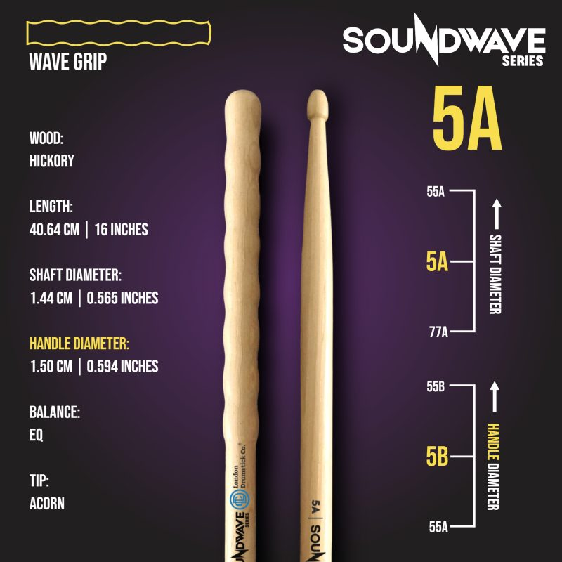 London Drumstick Company SoundWave Series 5A