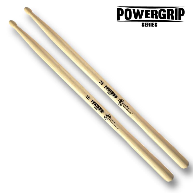 London Drumstick Co. PowerGrip 2B