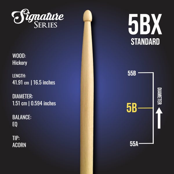 London Drumstick Co Standard 5BX info