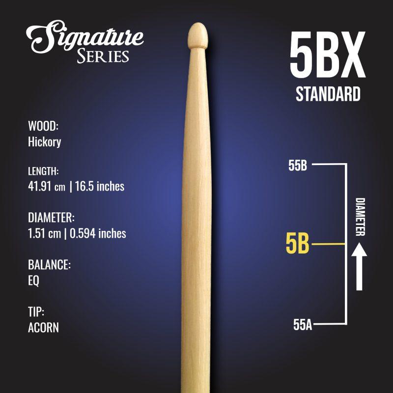 London Drumstick Co Standard 5BX info