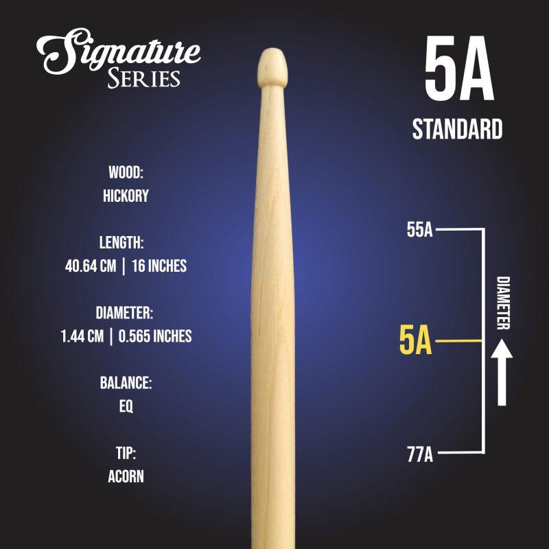 London Drumstick Co Standard 5A info