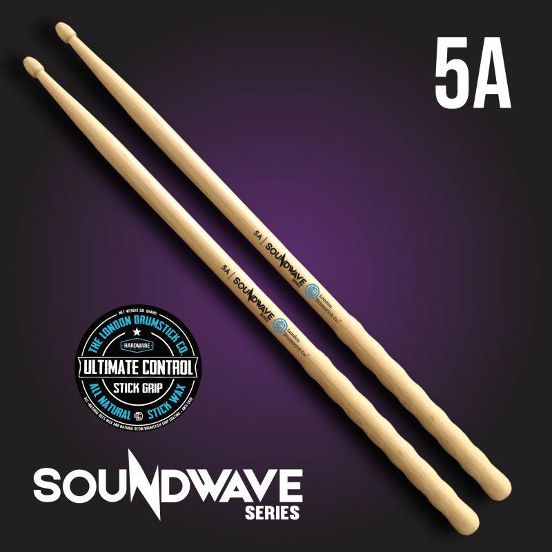 London Drumstick Co. SoundWave Series 5A Ultimate Control