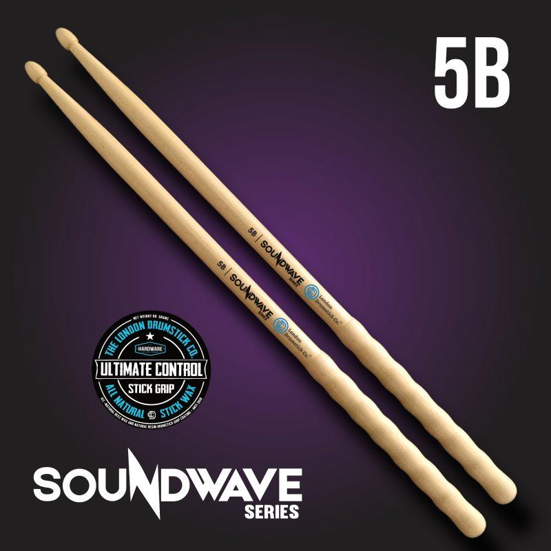 London Drumstick Co. SoundWave Series 5B - Ultimate Control
