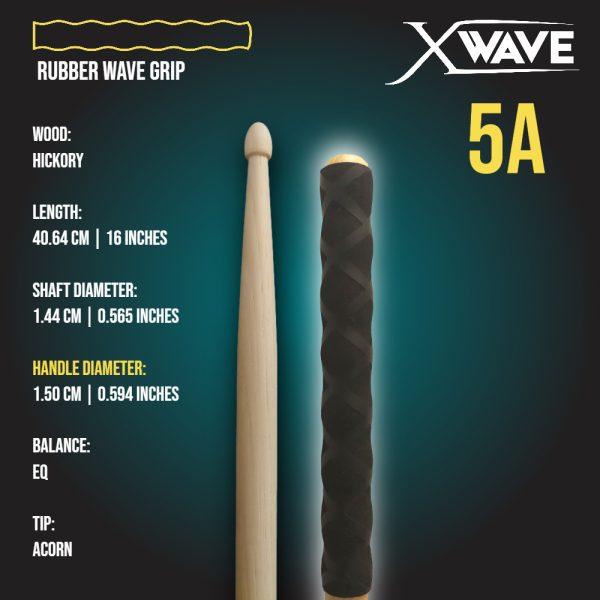 London Drumstick Company X-Wave 5A